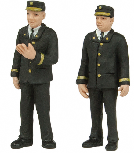 47-411 Scenecraft Station staff 70's set A (pack of 2 figures)